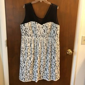 Torrid lace dress; size 24